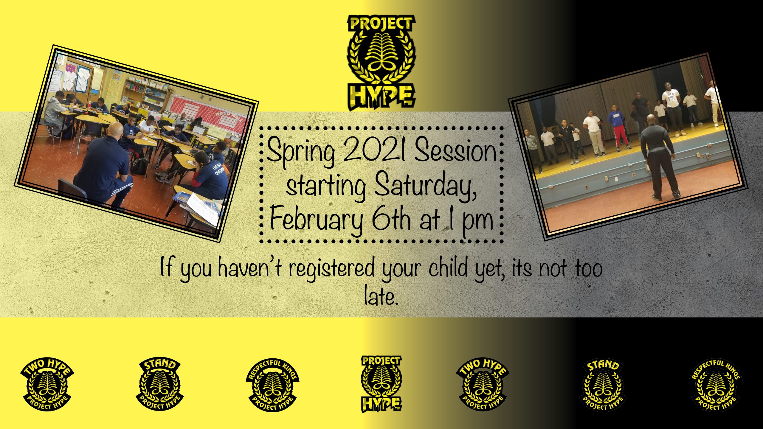 Spring Program 2021 Web Banner – HYPE